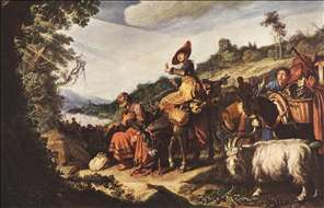 Abraham's Journey to Canaan