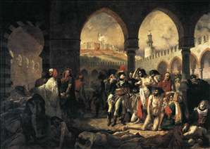 Napoleon Bonaparte Visiting the Plague-stricken at Jaffa