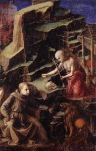 The Penitent St Jerome with a Young Monk