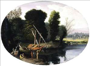 Italianate River Landscape