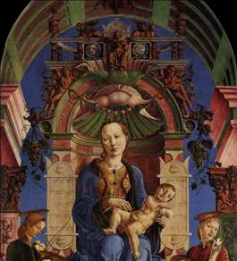 Madonna with the Child Enthroned