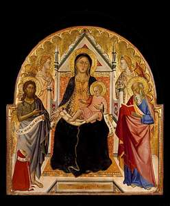 Madonna and Child with Sts John Baptist and Paul