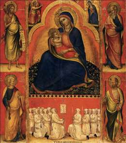 Virgin of Humility with Saints