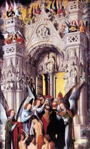 Last Judgment Triptych (detail)