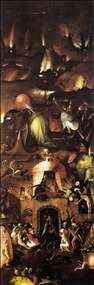 Triptych of Last Judgement (right wing)