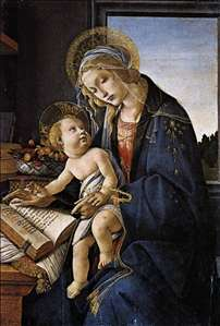 Madonna of the Book (Madonna del Libro)