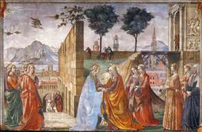 Visitation Domenico Ghirlandaio