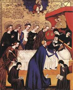 The Death of St. Clare