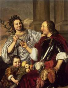 Allegorical Family Portrait