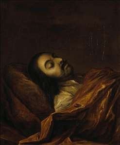 Portrait of Peter the Great on his Death-Bed