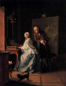 Portrait of the Artist and His Wife at the Spinet