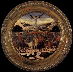 Triumph of Fame (a Birth Salver)
