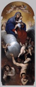 Virgin and Child with Souls in Purgatory