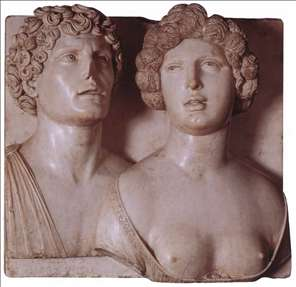 Self-portrait (?) with his Wife in Ancient Guise