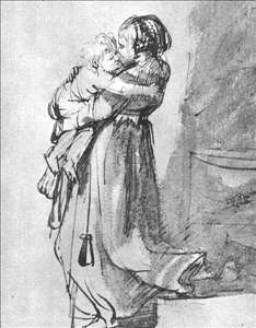 Saskia with a Child