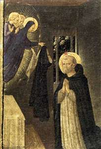 The Virgin Consigns the Habit to St Dominic