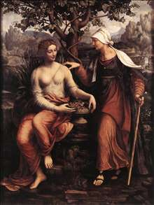 Pomona and Vertumnus