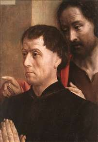 Portrait of a Donor with St John the Baptist