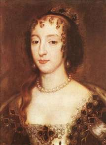 Henrietta Maria of France, Queen of England