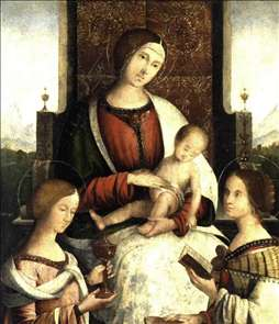 Madonna and Child with Sts Mary Magdalene and Catherine of Alexandria
