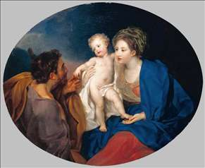 Madonna and Child with a Shepherd