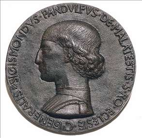 Portrait of Sigismondo Pandolfo Malatesta (obverse)