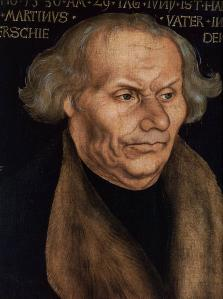 Portrait of Hans Luther (detail)