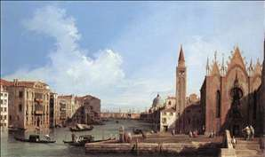 Grand Canal: from Santa Maria della Carit� to the Bacino di San Marco