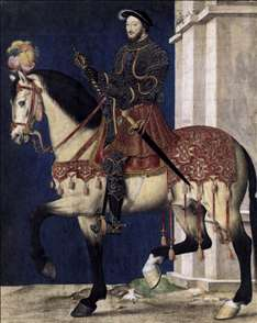 Portrait of Francis I, King of France
