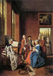 Concert in an Interior