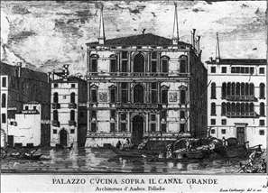 Palazzo Coccina on the Grand Canal