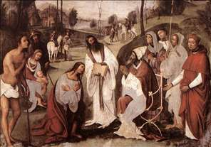 Conversion of St Valerian
