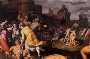 Massacre of the Innocents (detail)
