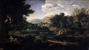 Landscape with Magdalen Worshipping the Cross