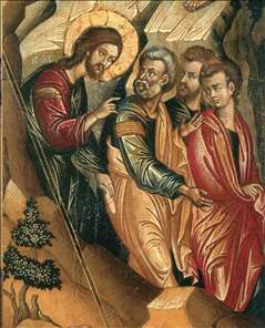 Transfiguration of Christ (detail)