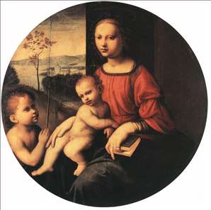 Virgin and Child with the Infant St John the Baptist