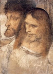 Heads of Sts Thomas and James the Greater