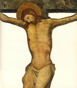 Cut-out Crucifix (detail)