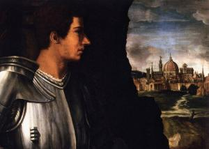 Portrait of Duke Alessandro de' Medici (detail)