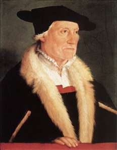 Portrait of the Cosmographer Sebastien Münster
