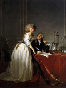Portrait of Antoine-Laurent and Marie-Anne Lavoisier