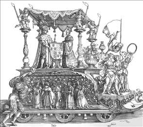 The Small Triumphal Car or the Burgundian Marriage