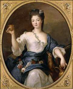 Portrait of the Duchess of Modena as H�b�