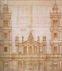 Design for the façade of San Lorenzo, Florence