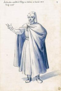 Costume of the allegorical figure