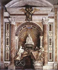 Tomb of Pope Alexander (Chigi) VII