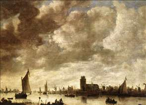 View of the Merwede before Dordrecht