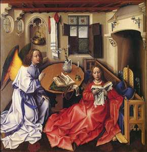 M�rode Altarpiece (Nativity)
