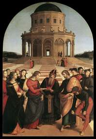 Spozalizio (The Engagement of Virgin Mary)