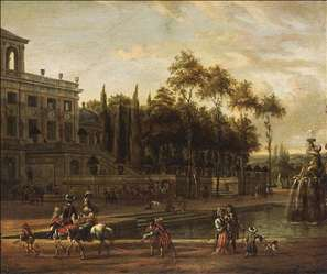Italianate Park Landscape